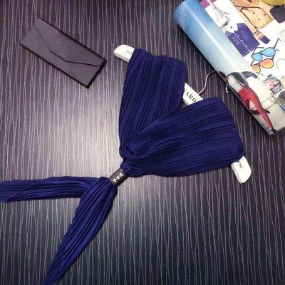 韓國皺折小領巾5種顏色可挑選!優惠 1條190元2條350元