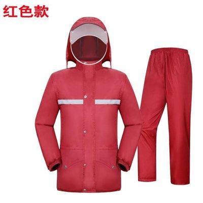雨衣雨褲套裝電動車摩托車防水全身雙層雨...