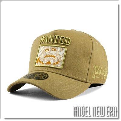【ANGEL NEW ERA】ONE PIECE 航海王 懸賞單 騙人布 卡其色 老帽 卡車帽 東映授權 限量帽贈帽撐