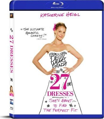 BD 全新美版【27件禮服的秘密】【27 DRESSES】Blu-ray 藍光 凱瑟琳海格