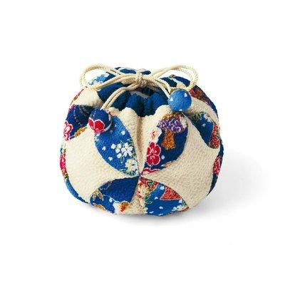 日式縐布小物隨身小提袋 材料組 琉璃❤EZ樂活手作❤