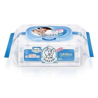 【魔法世界】貝恩 Baan NEW嬰兒保養柔濕巾-箱購80抽×24包(箱購/含運)/無香料