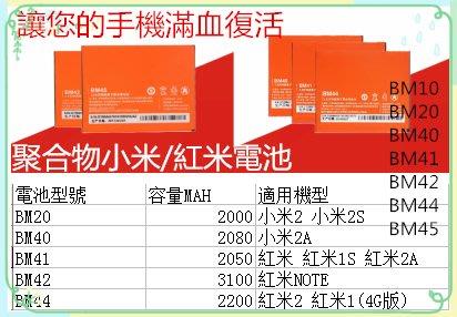現貨小米電池紅米電池小米2小米2S小米2A紅米紅米1S紅米2A紅米NOTE紅米2 紅米1手機電池小米手機小米行動電源