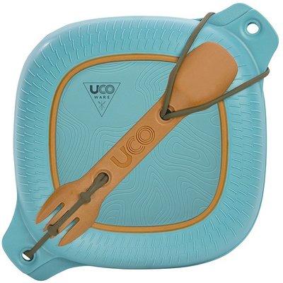 美國【UCO】WARE MESS KITS 餐盒組/ 便當盒 / 無雙酚A /戶外用餐具 耐熱115度 至 -2