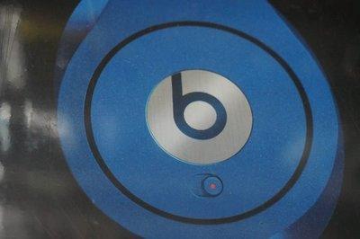 自售二手全新未拆公司貨Beats Studio by Dr. Dre耳罩式耳機-藍