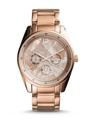 🇺🇸 美國代購 現貨在台 Fossil 超美貝殼錶面 玫瑰金錶