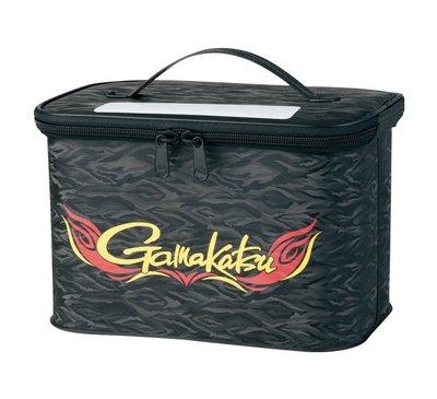 《三富釣具》GAMAKATSU 短筒釘鞋置物箱 GM-2460 230*330*210mm 黑 商品編號496215