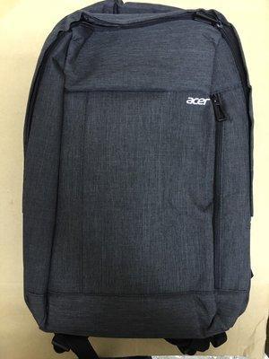 @淡水無國界@Acer 宏碁 原廠 15.6吋 防潑水 後背包 筆電包 實品超讚 (灰色) 限時特價 480 直購 新北市