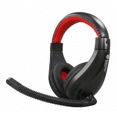 暢銷商品/耳機【KINYO】耐嘉~黑火立體聲耳機麥克風(EM-3631)~精彩多芬D&J拍賣小舖