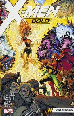 《代訂中》[美版書籍]X-Men Gold Vol. 3: Mojo Worldwide (9781302910891)