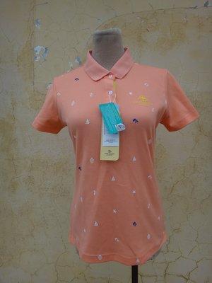 jacob00765100 ~ 全新 正品 PIERRE BALMAIN 皮爾帕門 橘色 基本款 polo 衫 size