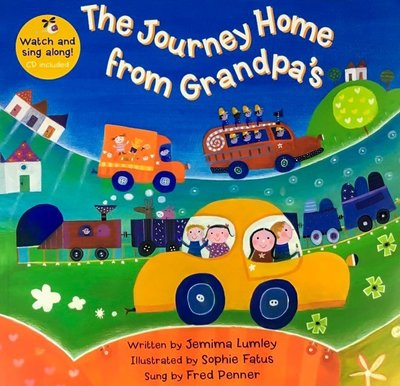 Barefoot/The Journey Home from Grandpa's/歌謠書CD/Jemima Lumley