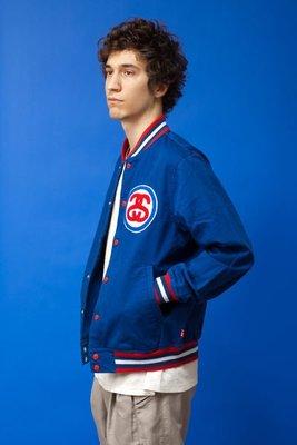 ☆AirRoom☆【現貨】STUSSY BIG LINK JACKET 夾克 電繡 棒球外套 2色 115180