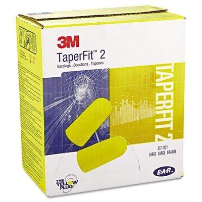 3M EAR TaperFit 2子彈型耳塞 降噪32分貝3M-312-1221 200副/盒《JUN EASY》