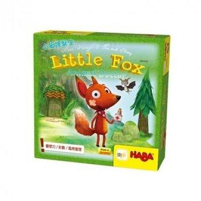 大安殿實體店面 免費送牌套 小狐狸醫生 Little Fox 德國HABA益智桌遊 正版桌遊專賣店
