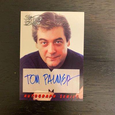 1998 Tom Palmer 限量 親筆簽名 收藏卡 卡片