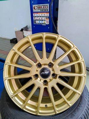 【頂尖】優質中古鋁圈北德文17吋 5x114 7.5J ET38 直購價$8000 分期零利率