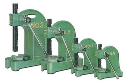手壓台 NO.2  軸承手壓台 (NO.0~NO.5) 手壓沖床 衝床