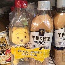 日本東京便利商店限定 KIRIN午後紅茶x迪士尼Disney午後紅茶奶茶罐裝POOH小熊維尼珠鍊吊飾娃娃(不含飲料)