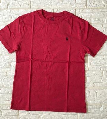 全新 Ralph Lauren 大男童~ 熱帶粉紅短袖上衣、尺寸:M號 【美國官網正品】
