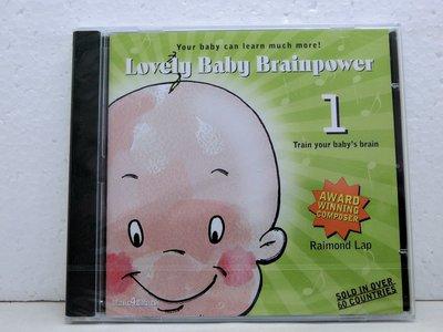 【標標樂1015-4】Lovely Baby Brainpower 1 (全新未拆)】CD西洋