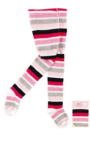 韓風童品  褲襪 Luvable Friends 嬰幼兒棉質連褲襪 彩色條紋 女童打底褲