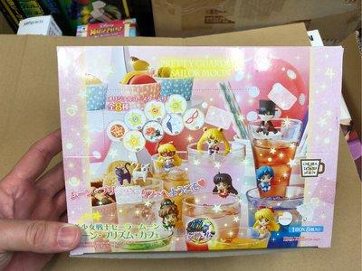 Bandai Megahouse 美少女戰士 Sailor Moon 茶友 杯緣子 一套8款 月野兔 禮服幪面俠 水野亞美 木野真琴 露娜 火野麗 Venus