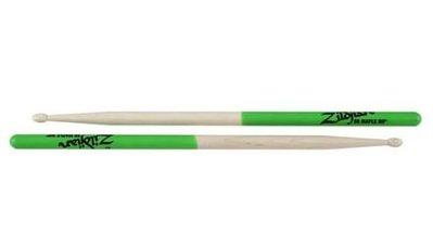 公司貨 防滑 鼓棒 Zildjian 5AMG 5A 綠色 防滑鼓棒 凱恩音樂教室