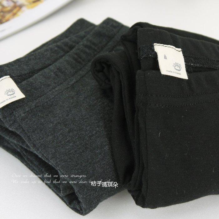 韓國連線 超彈性 純棉 內搭褲 ~桔子瑪琪朵