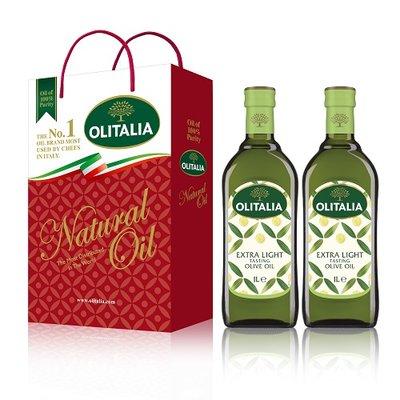 Olitalia 奧利塔精緻橄欖油禮盒組(1000mlx2瓶) 台灣銷售第1