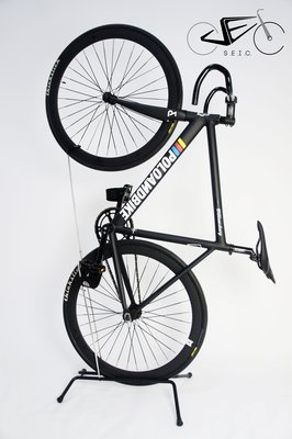 ►SEic單車工廠 ►單速車/自行車 ► 直立式 立車架 X 黑色