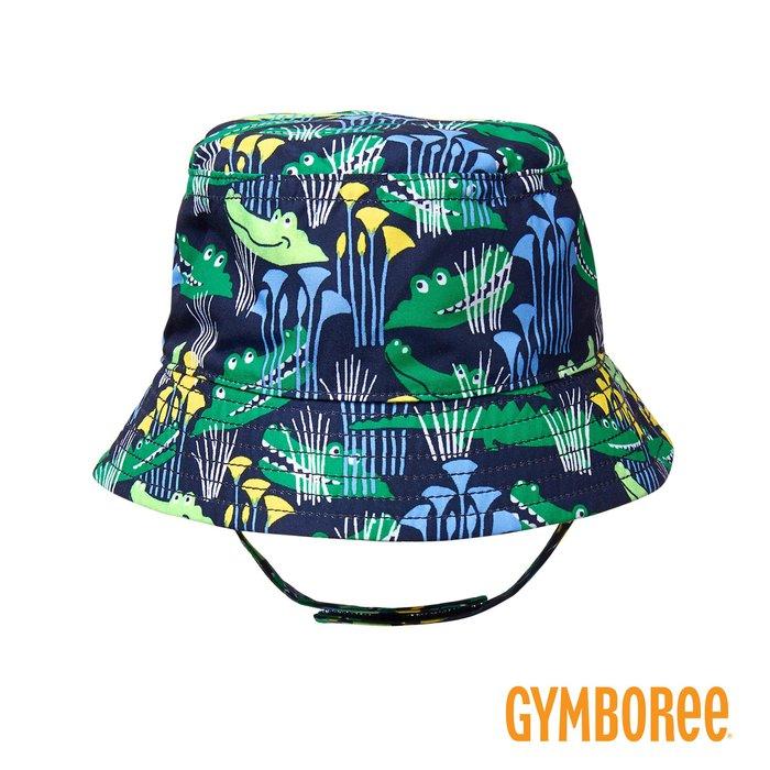 外出必備 ✈ 美國知名品牌 Gymboree 健寶園・兒童帽 漁夫帽 遮陽帽 防曬帽 - 叢林鱷魚