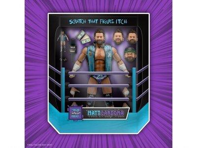 SUPER 7 職業摔角 Major Wrestling系列 馬修·布雷特·卡爾多納 7吋人偶~12月上市