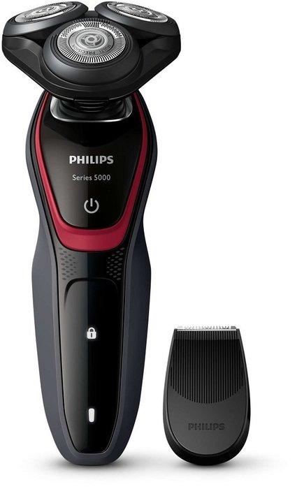 【荷蘭原裝進口】PHILIPS 飛利浦 Shaver series 三刀頭可水洗電鬍刀 S5130 / S-5130