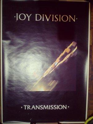 Joy Division poster Transmission 海報 90X63CM @遊樂區 Ian Curtis