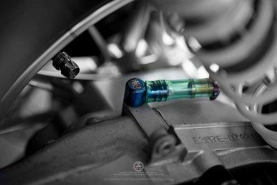 三重賣場 勁戰 鈦合金齒輪箱呼吸管 四代勁戰呼吸管 廢油管 鈦合金訂製管塞 五代勁戰齒輪箱管 鈦合金廢油管頭 齒輪箱呼吸