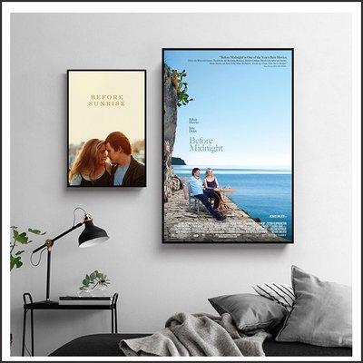 愛在日落巴黎時 愛在午夜希臘時 愛在黎明破曉時 海報 電影海報 藝術微噴 掛畫 嵌框畫 @Movie PoP 多款海報#