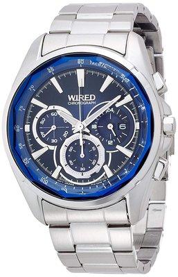 日本正版 SEIKO 精工 WIRED AGAV101 男錶 男用 手錶 日本代購