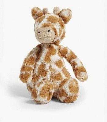 (預購)英國 JELLY CAT Bashful giraffe small soft toy 18cm