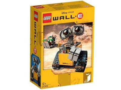 全新樂高 瓦力 LEGO Ideas 21303 Wall E