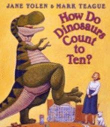 *小貝比的家*HOW DO DINOSAURS COUNT TO TEN?/硬頁書/3~6歲/恐龍