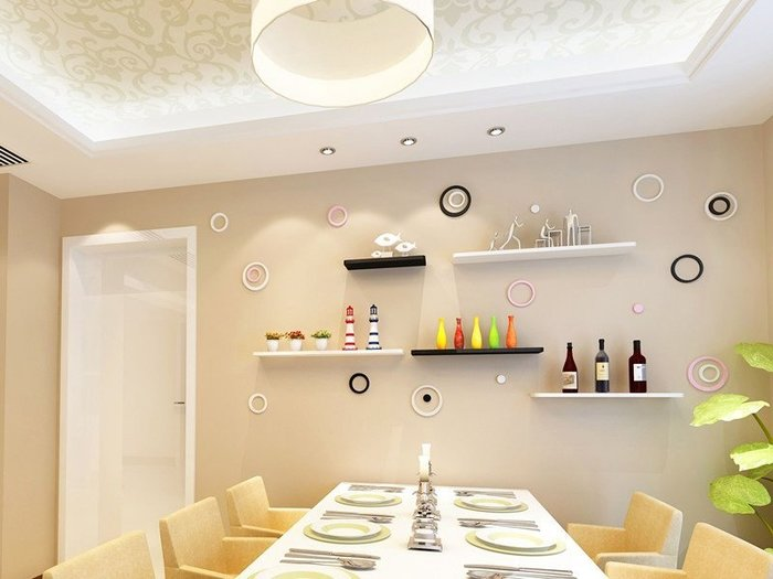 【免運送府】一字層板格子壁架 WE6015 自由搭配別有獨自風格   牆壁架 置物架 一字板 辦公架 層板 需訂製