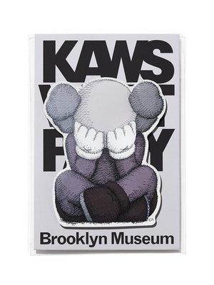 【日貨代購CITY】 KAWS BROOKLYN MUSEUM Magnet SEPARATED 磁鐵 收藏 現貨