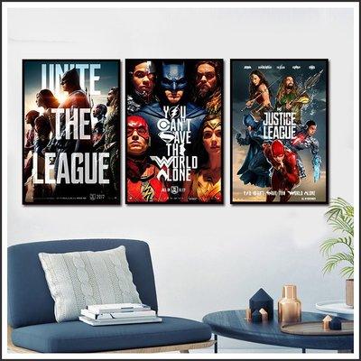 日本製畫布 電影海報 正義聯盟 Justice League 掛畫 嵌框畫 @Movie PoP 賣場多款海報~