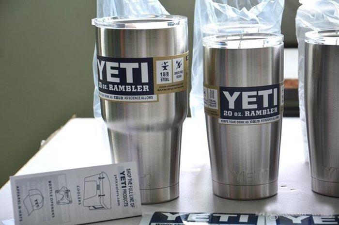 新款歐美暢銷YETI啤酒杯30oz真空不銹鋼汽車水杯車載保溫杯