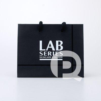 【台灣專櫃贈品】 LAB SERIES 雅男士 專櫃品牌紙袋  (17.5*7.5*14cm)