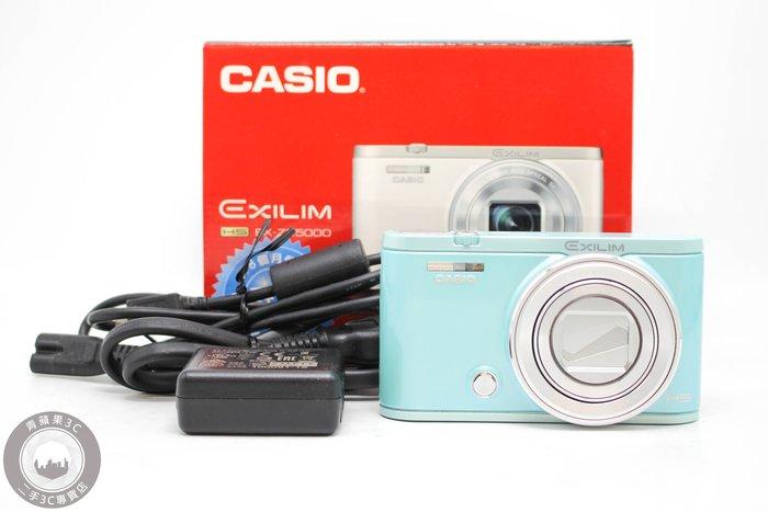 【高雄青蘋果3c】CASIO EXILIM EX-ZR5000 ZR5000 綠 數位相機 二手相機 #52228