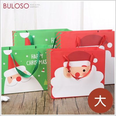 《不囉唆》聖誕老人禮物提袋(大) 聖誕節/聖誕提袋/禮物包裝(可挑色/款)【A428988】