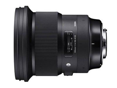 *大元˙台南*【恆伸公司貨三年保固】Sigma 105mm F1.4 DG HSM Art 望遠定焦 大光圈