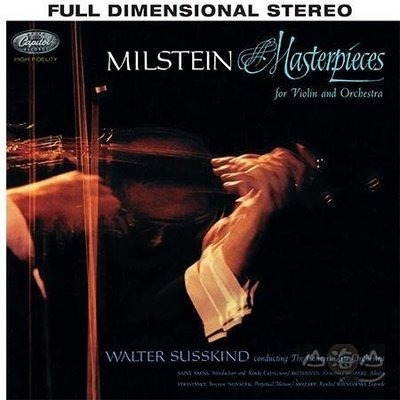 【SACD】小提琴與管弦樂傑作選 / 米爾斯坦 Nathan Milstein ---CAPC8528SA